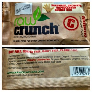 Raw Crunch Bar
