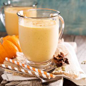Pumpkin Spice Morning Smoothie